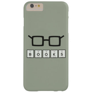 Books chemcial Element Nerd glasses Zh6zg Barely There iPhone 6 Plus Case