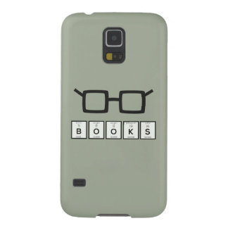 Books chemcial Element Nerd glasses Zh6zg Galaxy S5 Cover
