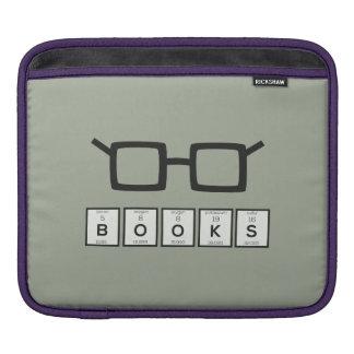 Books chemcial Element Nerd glasses Zh6zg iPad Sleeve