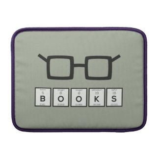 Books chemcial Element Nerd glasses Zh6zg MacBook Sleeve