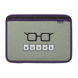 Books chemcial Element Nerd glasses Zh6zg Sleeve For MacBook Air