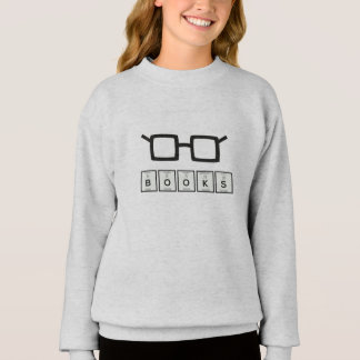 Books chemcial Element Nerd glasses Zh6zg Sweatshirt