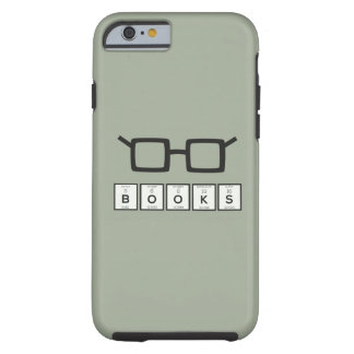 Books chemcial Element Nerd glasses Zh6zg Tough iPhone 6 Case