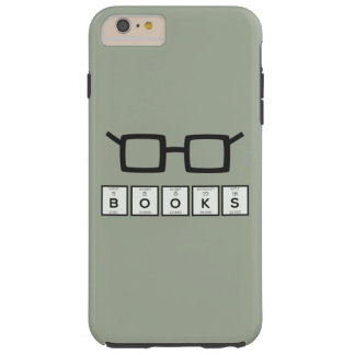 Books chemcial Element Nerd glasses Zh6zg Tough iPhone 6 Plus Case
