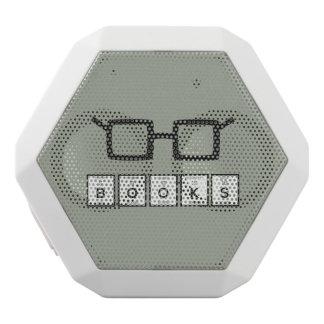 Books chemcial Element Nerd glasses Zh6zg White Bluetooth Speaker