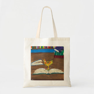 Books Coming Alive Tote Bag
