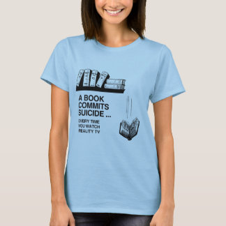 BOOKS COMMIT SUICIDE T-Shirt