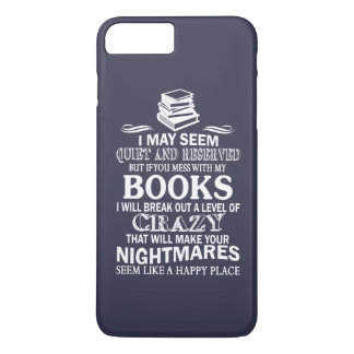 BOOKS CRAZY iPhone 7 PLUS CASE