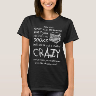 BOOKS CRAZY T-Shirt