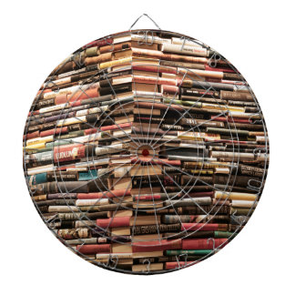 Books Dart Board