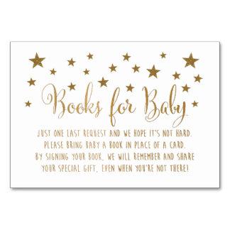 Books for Baby Insert Card