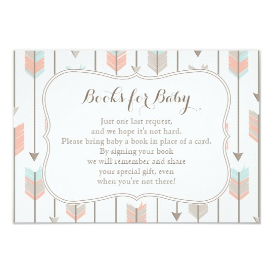 Books for Baby Insert Card