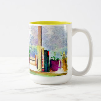 Books In The Window Two-Tone Coffee Mug