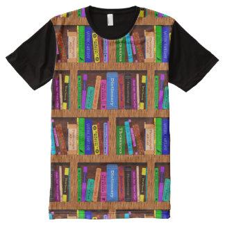 Books Library Bookshelf Pattern Readers