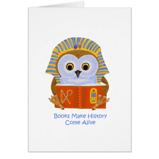 Books Make History Come Alive Card