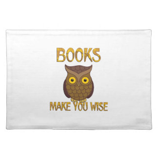 Books Make You Wise Placemat