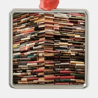 Books Metal Ornament