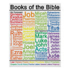 Books of the Bible 16x20 Poster