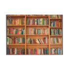 Books on Bookshelf Background iPad Mini Cover