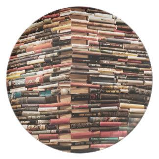 Books Plate