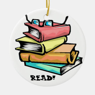 Books READ! Ornament
