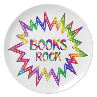 Books Rock Plate