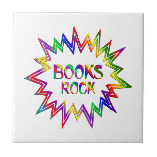 Books Rock Tile