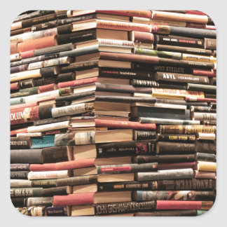 Books Square Sticker