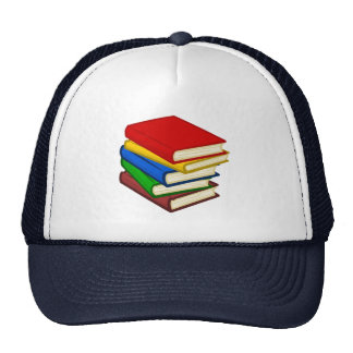 BOOKS STACKED TRUCKER HAT