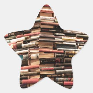 Books Star Sticker