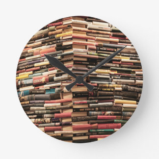 Books Wallclock