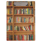 Bookshelf background clipboard
