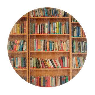 Bookshelf Books Library Bookworm Reading Cutting Boards