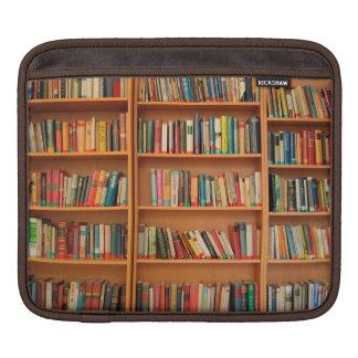 Bookshelf Books Library Bookworm Reading iPad Sleeves