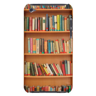 Bookshelf Books Library Bookworm Reading iPod Touch Case-Mate Case