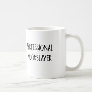 Bookslayer professionnel mug blanc