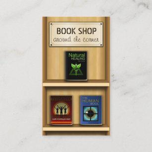 Bookstore business cards profile cards zazzle ca bookstore business cards reheart Gallery