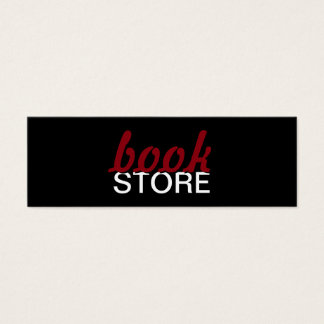bookstore punch card