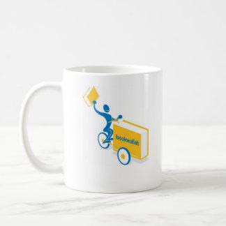 Bookwallah Logo, sharing the gift              ... Coffee Mug