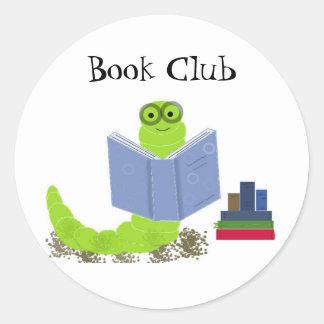 Bookworm Book Club Sticker