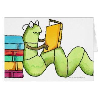 Bookworm Card