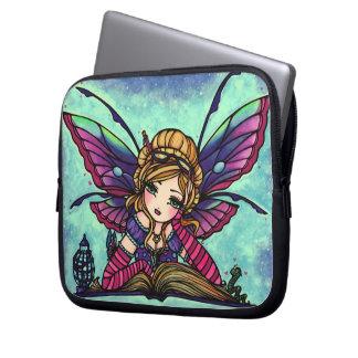 """""""Bookworm Fairy"""" Fantasy Art Sleeve Hannah Lynn"""