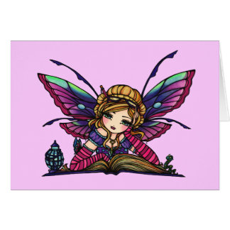 Bookworm Fairy Note Cards