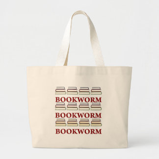 Bookworm Library Tote Bag