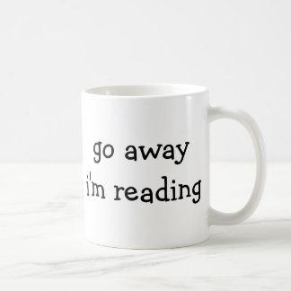 Bookworm Mug - Go Away I'm Reading