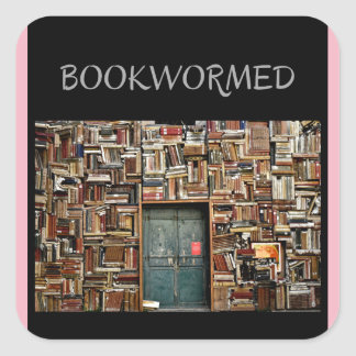 """Bookwormed"" Stickers For Any Occasion"