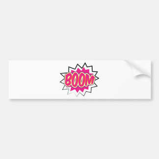 boom2 bumper sticker