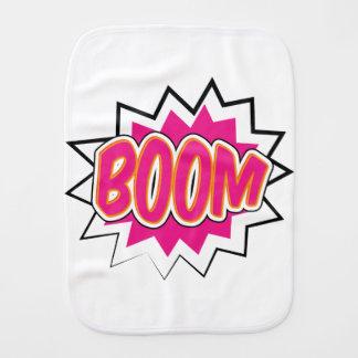 boom2 burp cloth