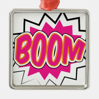 boom2 metal ornament