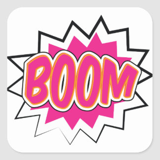 boom2 square sticker
